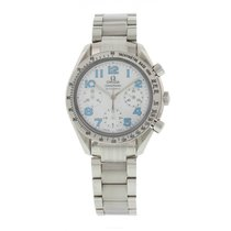Omega Speedmaster Mother Of Pearl 3534.71.00 W/ Card