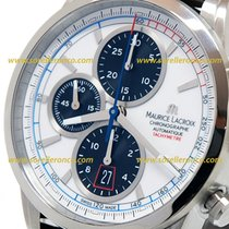 Maurice Lacroix Pontos Chronograph 43MM White Dial