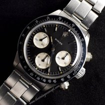 Rolex 6240 Daytona Solo Black Dial