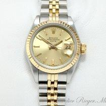 Rolex Date Edelstahl Gelbgold 750 Automatik 26mm Lady