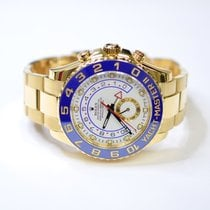 Rolex Yacht Master II 44mm 18K Yellow Gold Mens Watch 116688