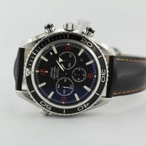Omega Planet Ocean Co-axial Chronograph 29105182 On Strap