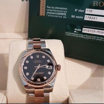 Rolex Datejust 31mm index diamants