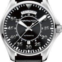 Hamilton PILOT DAY DATE AUTO H64615735 Herren Automatikuhr 80h...