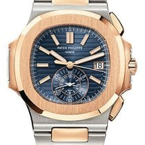 Patek Philippe Nautilus Chronograph Two-Tone Stainless Steel /...