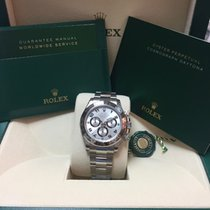 Rolex Cosmograph Daytona - silver dial, black arabic numbers
