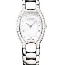Ebel 1215741 Beluga Tonneau in Steel with Diamond Bezel - on...