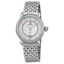 Michele CSX Elegance Stainless Steel Ladies Watch
