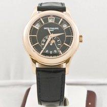 Patek Philippe Annual Calendar 5205R Rose Gold Watch Box &...