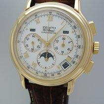 ゼニス (Zenith) Chronomaster Vollkalender Mondphase 18k/750 Gold