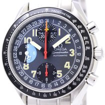 Omega Polished Omega Speedmaster Mark 40 Am/pm Steel Automatic...