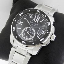 Cartier Calibre de Cartier Diver w7100057 Stainless Steel NEW