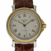 Paul Picot New Geneve Automatic Steel Gold 5039 Silver...