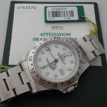 Rolex EXPLORER II REF.16570 YEARS 1997 BOX&PAPER