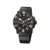 Ulysse Nardin Black Sea Chronograph 46mm Steel and Rubber