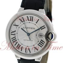 Cartier Ballon Bleu 42mm Automatic, Silver Dial - Stainless...