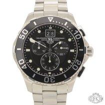 TAG Heuer Aquaracer Grande Date | 2016 | Steel Chronograph