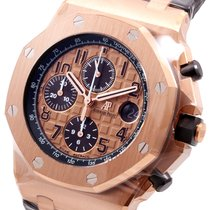 Audemars Piguet 18K Rose Gold Royal Oak Offshore Chronograph...