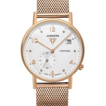 Junkers Eisvogel F13 Lady Swiss Quartz Watch 36mm Grained...