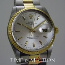 Rolex Oyster Perpetual  Date 15053 Or/Acier Complete