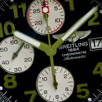 Breitling Super Avenger 48.4mm Black Dial Automatic Watch