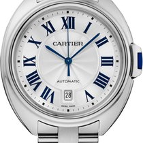 Cartier Cle De Cartier Automatic 40mm 18kt White Gold WGCL0006
