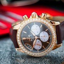 Omega Ladies' De Ville Co-Axial 18k Rose Gold/Diamonds