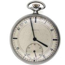 Zenith men's savonette pocket watch chronometer