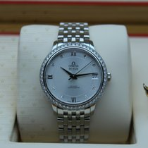 Omega 424.15.33.20.52.001  De Ville Prestige Co-Axial Diamond...