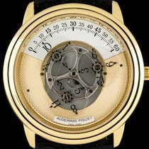 Audemars Piguet 18k Yellow Gold Star Wheel Gents Wristwatch 25720