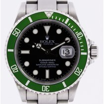 Rolex Submariner 16610LV Fat Four 50Anniv.