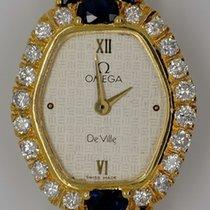 Omega de Ville Lady, 750/000 Gelbgold, 5,8ct Brillanten, 1ct...