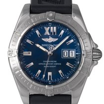 Breitling Cockpit Date Blue Dial, Ref: A49350