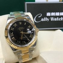 Rolex Cally - Discontinued 116333 Datejust II Black Roman 41mm