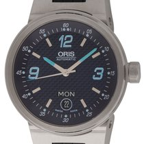 Oris : Williams F1 Team Day-Date :  635-7560-41-65 :  Stainles...