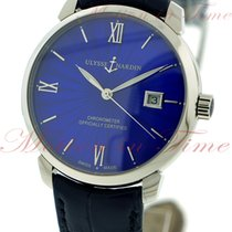 Ulysse Nardin Classico Automatic, Blue Enamel Dial - Stainless...