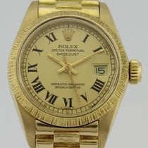 Rolex OYSTER PERPETUAL DATEJUST 6927 GOLD LADY
