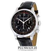 Baume & Mercier Capeland Chronograph 42mm Black Dial Black...