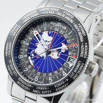 Fortis B-47 Worldtimer Limited Edition 2012+2 Bänder+Box/Papiere