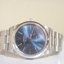 Rolex Air King Precision blue 34mm - box and warranty 1 year