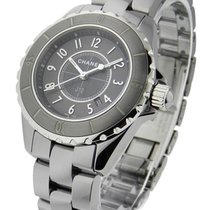 Chanel H2978 Chromatic J12 - Titanium - Ceramic Bezel - on...