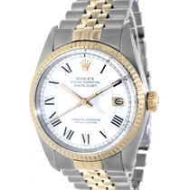Rolex Datejust 36 16013 Steel, Yellow Gold, 36mm