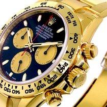Rolex 116508 Daytona Yellow Gold Black Paul Newman Dial 116508