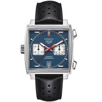 TAG Heuer Monaco 39mm Chrono Date Automatic Mens Watch...