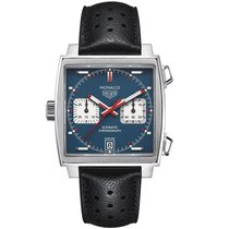TAG Heuer Monaco 39mm Chrono Date Automatic Mens Watch Ref...