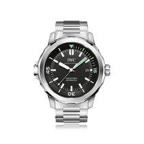 IWC Schaffhausen Aquatimer Black Automatic Mens Watch IW329002