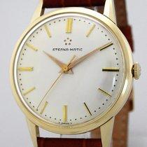 Eterna Matic Massivgold 14K/585 Herrenuhr