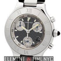 Cartier Must 21 Collection Must 21 Chronoscaph 38mm Stainless...