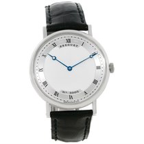 Breguet Classique 18k White Gold Automatic Ultra Thin Watch 5157