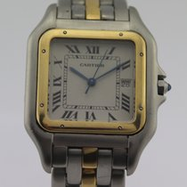 Cartier PANTHÈRE STAINLESS STEEL & GOLD